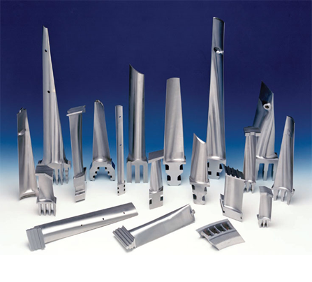 Supply of Hot Gas Path Parts for Gas turbines and Repair
